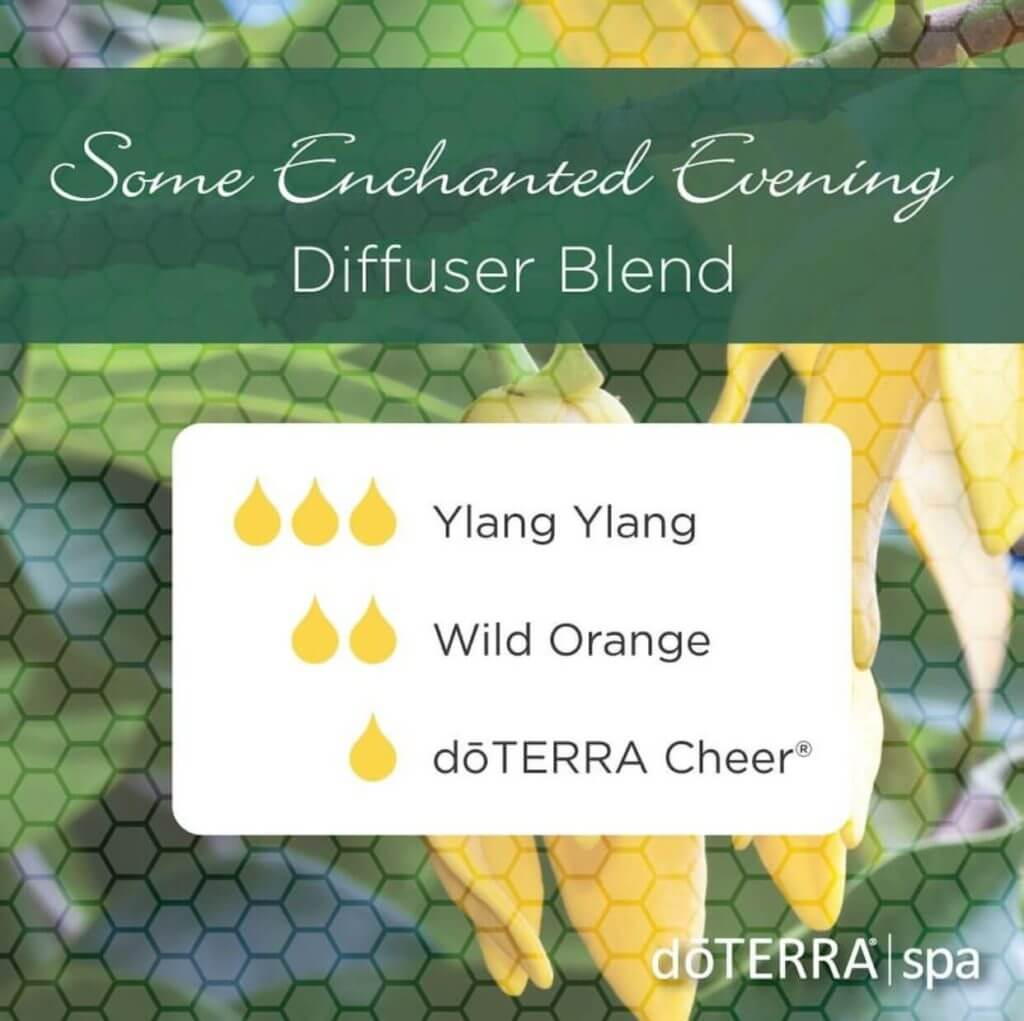 "mélange ""Some Enchanted Evening"" pour diffuseur doterra"