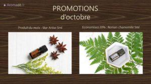 promotions octobre proposé pat doTERRA