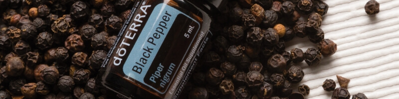 les huiles essentielles doterra, black pepper