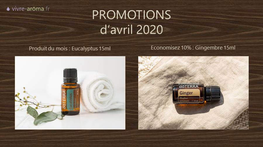 promotion doterra avril 2020