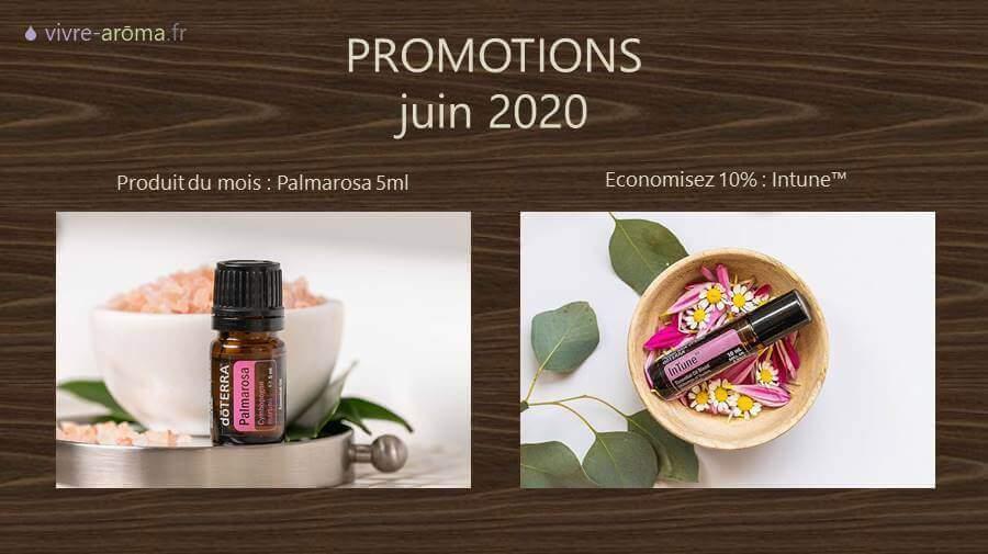 promotions doterra du mois de juin 2020