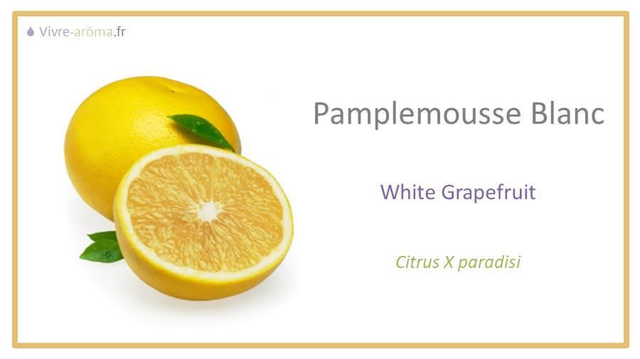 huile essentielle de pamplemousse blanc doterra