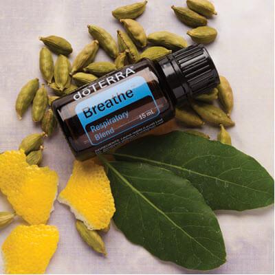 air, une synergie d'huiles essentielles pour apporter un soutient au système respiratoire.