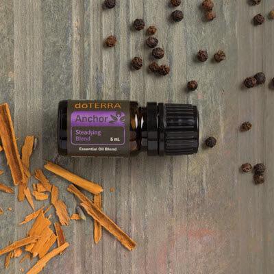 Anchor est une synergie d'huiles essentielles doTERRA de la gamme Yoga
