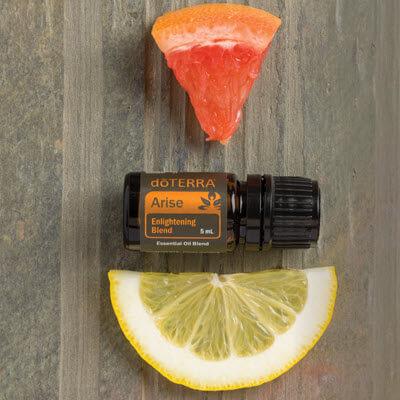 Arise est une synergie d'huiles essentielles doTERRA de la gamme Yoga