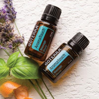 Aromatouch, la synergie d'huiles essentielles doTERRA pour le massage