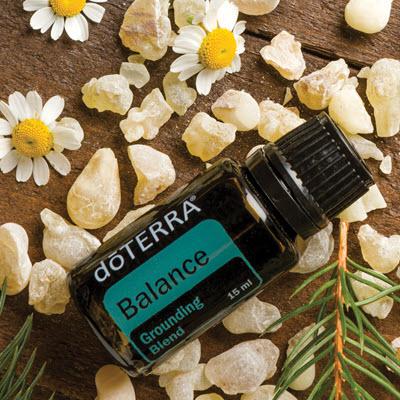 Balance, la synergie d'huiles essentielles doterra pour vous aider à vous ressourcer