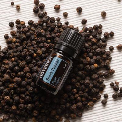 huile essentielle black-pepper proposée par la société doterra