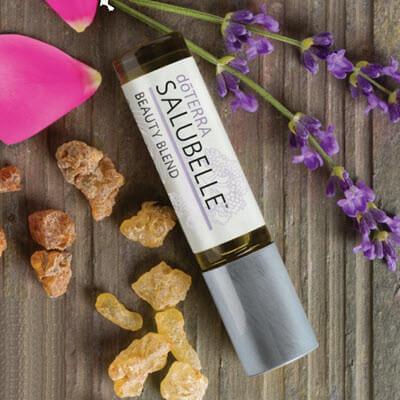 synergie d'huiles essentielles salubelle, le mélange beauté proposé par doterra